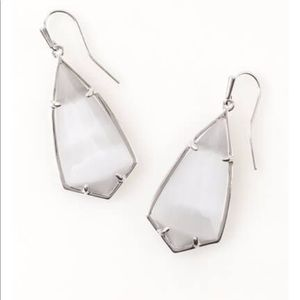 Kendra Scott Carla Earrings (slate cats eye)